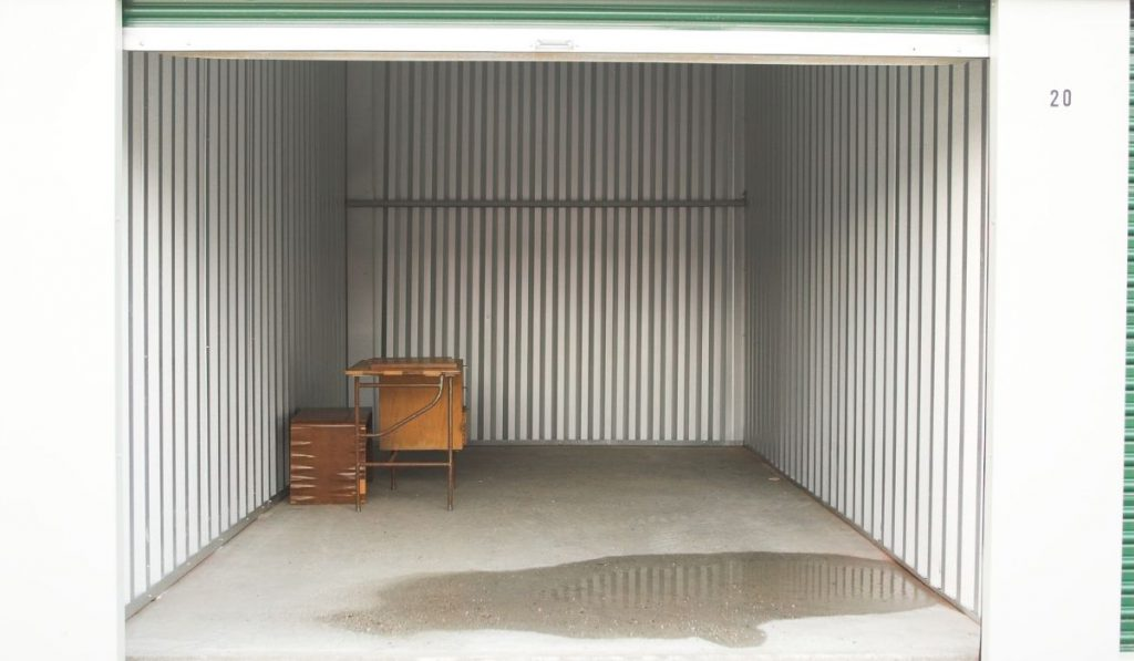 open storage facility
